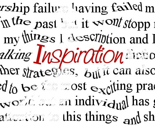 Inspiration is overrated: Be consistent