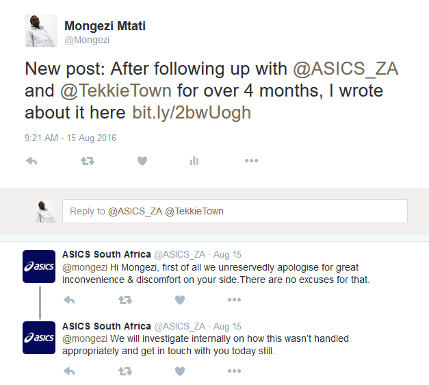 Asics South Africa