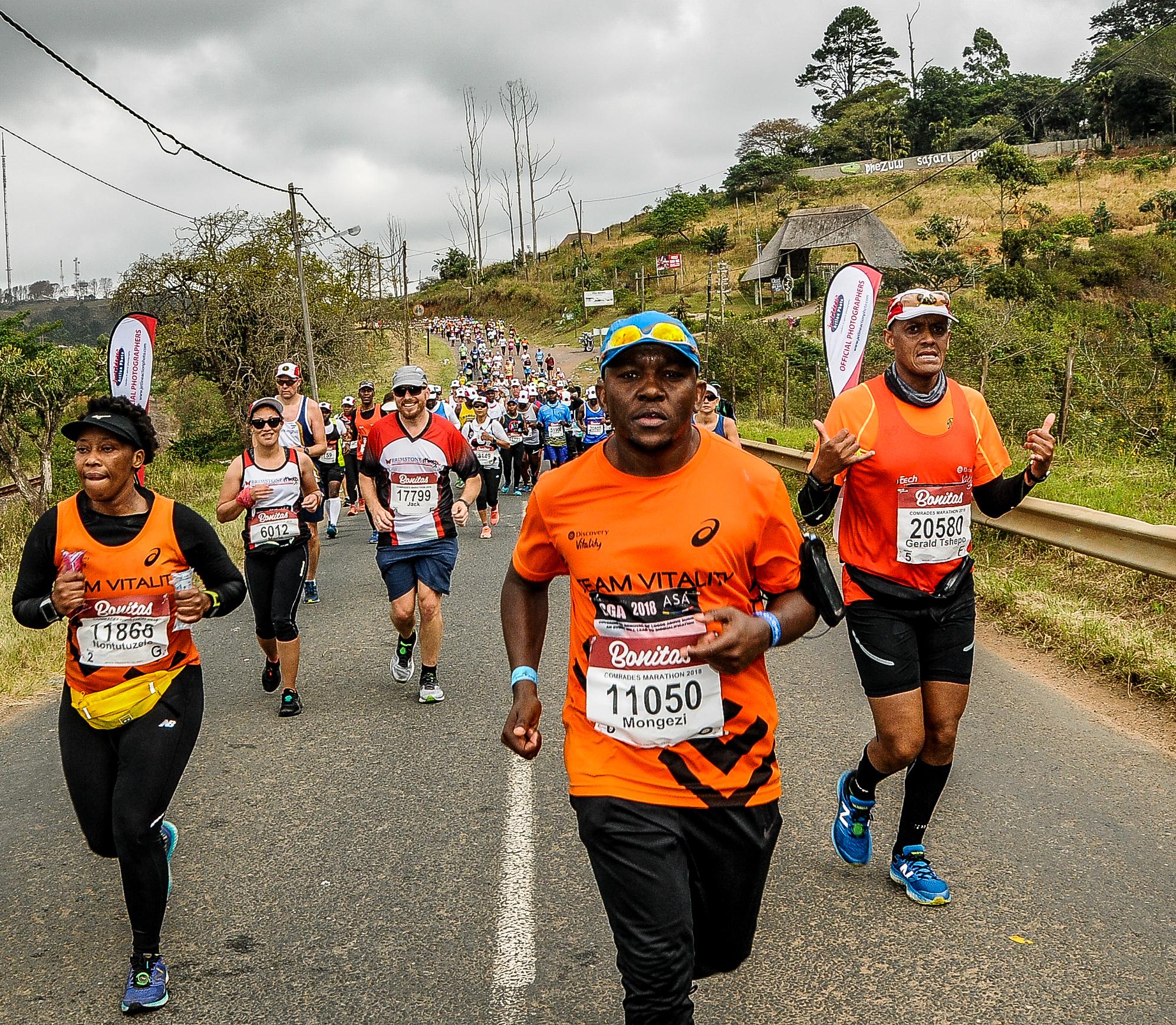 sehr schön an vorderster Front der Zeit große Auswahl an Designs Mongezi Mtati | @MongeziFinishing the Comrades 2018 Marathon ...