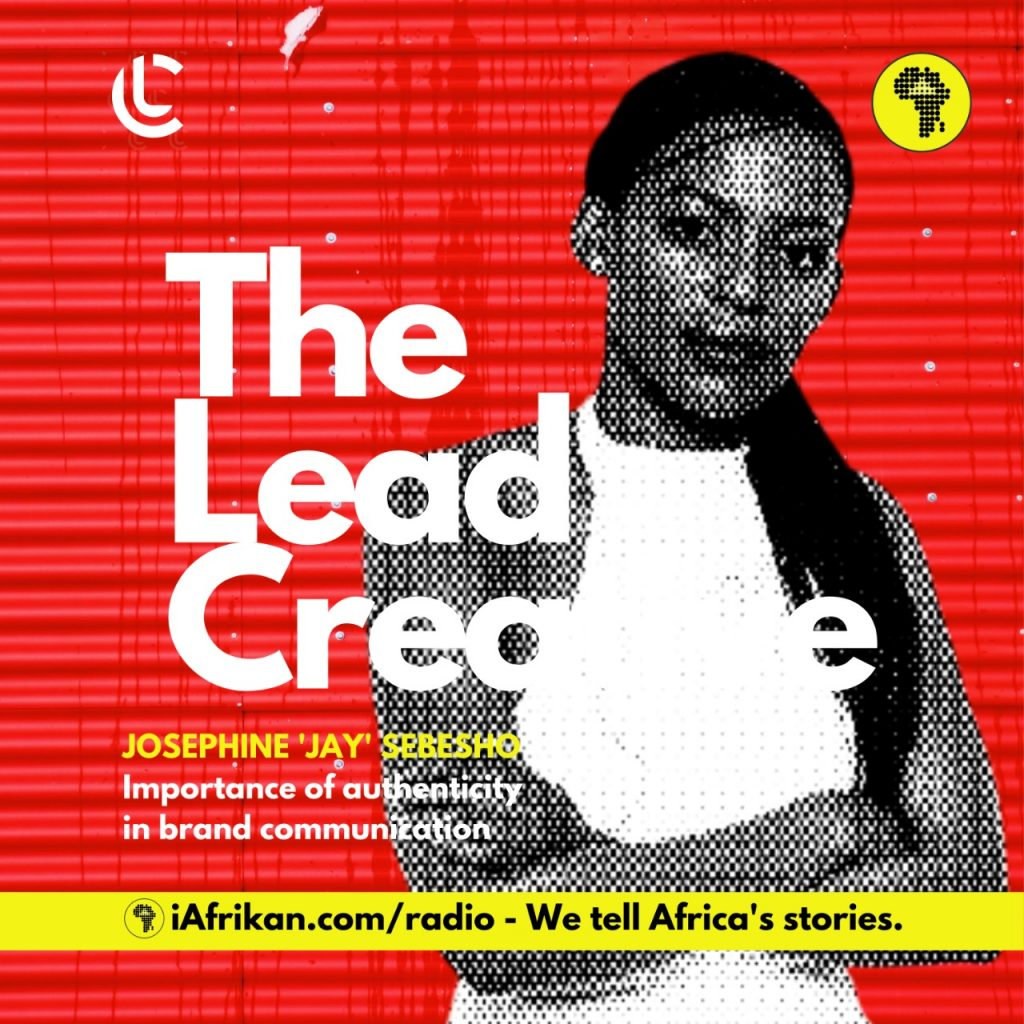 Josephine 'Jay' Sebesho on The Lead Creative